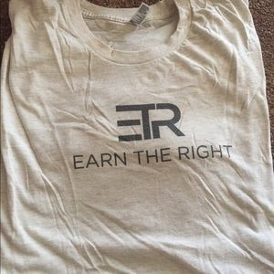 Other - Men's Earn The Right shirt XXL